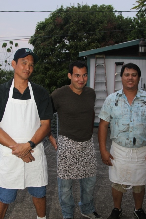 Our fabulous cooks.